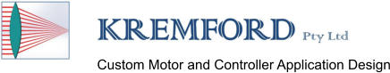 Kremford Pty Ltd - Custom Motor and Controller Application Design